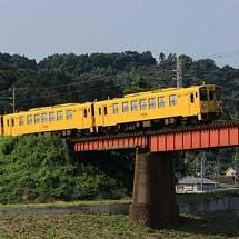 キハ125形が4両で回送される