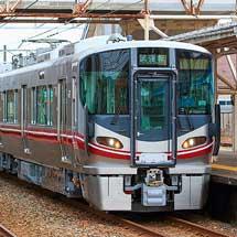 521系100番台6両が北陸本線で試運転