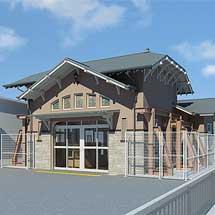 南海・堺市など,諏訪ノ森旧駅舎の活用を9月4日から開始