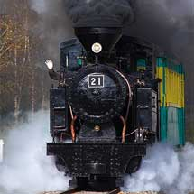 遠軽町,「丸瀬布森林公園いこいの森」の蒸気機関車「雨宮21号」の機関士を募集