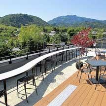 9月19日〜27日嵐電,嵐山駅屋上エリア開放と「RANDENGALLERY」開催