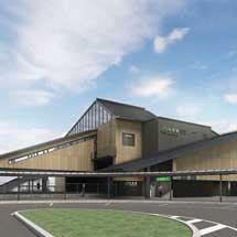 JR東日本,常磐線内原駅の南北自由通路新設と橋上駅舎化に着手