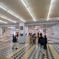 渋谷駅西口の連絡通路が移設される