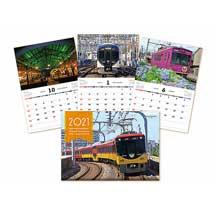 「京阪電車2021カレンダー」発売