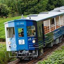 徳島線で「藍よしのがわトロッコ」の営業運転開始