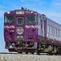 富良野線で「山紫水明」号による団臨運転