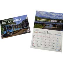 「青い森鉄道 2021カレンダー」「モーリーマスキングテープ」発売