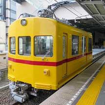 京急川崎駅でデト11・デト12が展示される