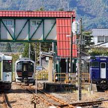 キハ40系「越乃Shu*Kura」が米坂線へ入線