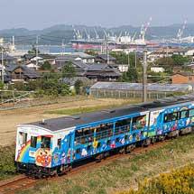 「アンパンマントロッコ」+「ゆうゆうアンパンマンカー」が松山地区で運転される