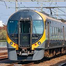 多度津で特急形車両が一線に留置される(JR四国で特急列車の運用を一部変更)
