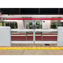 京急鶴見駅1番線でホームドアの設置に着手