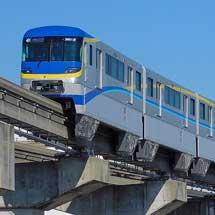 大阪モノレール3000系51編成が営業運転を開始