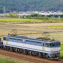 シキ1002D1が宇都宮貨物ターミナルへ返却される
