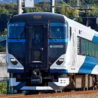 E257系2500番台が駿豆線内で日中に試運転