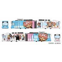 熊本市電,漫画「ONE PIECE」のラッピング電車を11月7日から運転