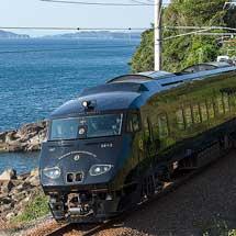 『黒い787「36ぷらす3」』が肥薩おれんじ鉄道に初入線