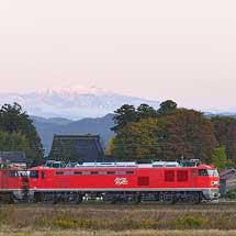 「JRF」ロゴがなくなったEF510-3が富山機関区へ