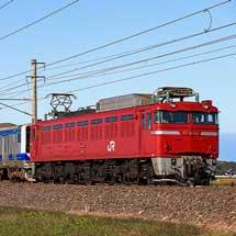 E531系K453編成が秋田総合車両センターから出場