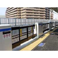 JR西日本,高槻駅・広島駅の可動式ホーム柵の使用開始日が決定