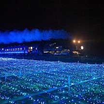 11月14日・21日東武,SL「大樹」のイルミネーション特別運転を実施