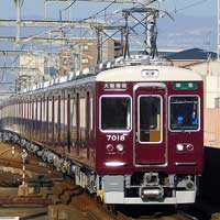阪急7000系7018編成がリニューアル工事を終え営業運転に復帰