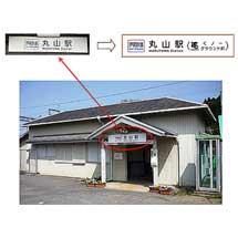 伊賀鉄道,11月18日から丸山駅に副駅名<くノ一グラウンド前>を導入