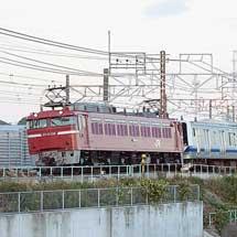 E531系K456編成が秋田総合車両センターへ