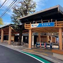 小田急,参宮橋駅の改良工事が11月25日に完了