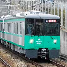 神戸市交6000形6142編成が試運転を実施