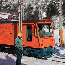 「黒部峡谷トロッコ電車運転体験会」開催