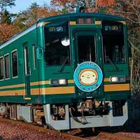 信楽高原鐵道SKR501に「たぬき列車」ヘッドマーク