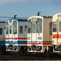 関東鉄道水海道車両基地で『歴代カラー車両撮影会』開催