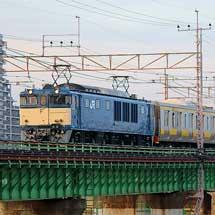 E231系の付随車4両が長野へ
