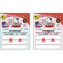 新京成「乗りトク!年末年始おでかけきっぷ」発売