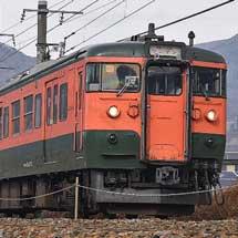 しなの鉄道,115系2編成(S25・S27編成)の引退を発表