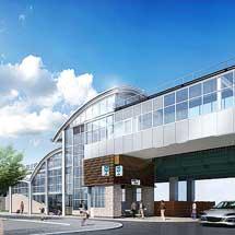 東京メトロ,千代田線北綾瀬駅の1番出入口・北改札の供用を開始
