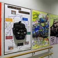 亀川駅に「36ぷらす3」の立体モデルが登場