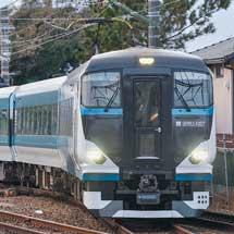 E257系2500番台がJR東海静岡支社管内で日中に試運転
