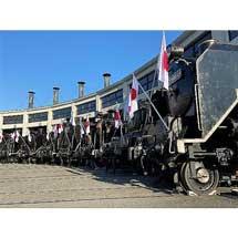 1月2日〜11日京都鉄道博物館で「SL頭出し展示」開催