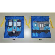 青い森鉄道「青い森701系巾着袋」発売