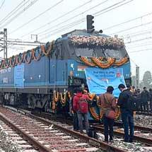 日本工営が支援するインドの貨物鉄道が部分開通