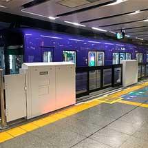 阪神,神戸三宮駅1・3番線の可動式ホーム柵の供用を2月11日から開始