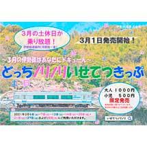 伊勢鉄道「どっちノリノリいせてつきっぷ」を発売