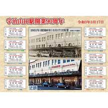 近鉄「宇治山田駅開業90周年記念 入場券10駅セット」発売