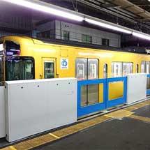西武,国分寺駅5番ホームで,3月2日からホームドアの稼働を開始