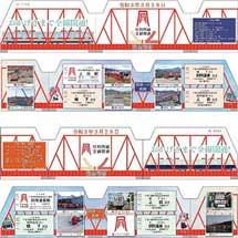 上田電鉄「全線開通記念切符・グッズ」各種を発売