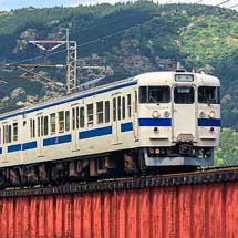 415系による団体臨時列車運転