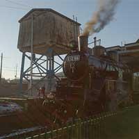 5月23日真岡鐵道,真岡駅で「SL回送整備撮影会」開催