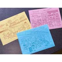 ジェイアール東海パッセンジャーズ,「東海道新幹線N700S×鳥獣戯画クリアファイルセット」を発売
